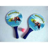 Promotion를 위한 다채로운 Custom Printin Beach Racket