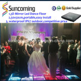 Neues Design 3D Mirror Zeit Tunnel DJ LED Dance Floor