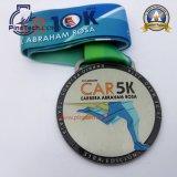 la medalla corriente 5k con Calor-Transfiere la cinta