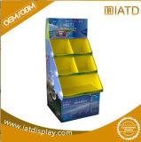 Stand de brochure de livre d'étalage de produit d'exposition de parapluie d'étage de carton