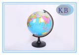 Globo di plastica dell'autoadesivo del mondo di carta di 14.16 cm