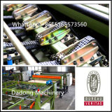الصين صاحب مصنع خشب رقائقيّ يجعل معدّ آليّ [سندويش بلت] يجعل آلة