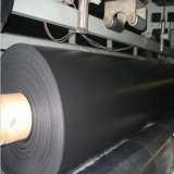 HDPE Geomembrane negro para el trazador de líneas de la charca de pescados