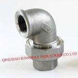 Instalación de tuberías roscada del acero inoxidable, 304/316