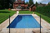 Утюг оцинкованных деформируемых алюминиевых саду через забор и ворота ограждения/Вилла ограждения