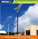 sensore di movimento 30W tutto in un indicatore luminoso di via solare con il sensore di movimento