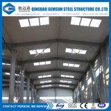 Edificio prefabricado de la vertiente del diseño del almacén industrial de la estructura de acero en fábrica