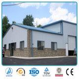 Taller barato y almacén de la estructura de acero de la luz de la azotea