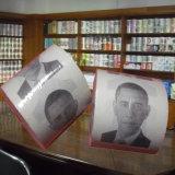 Obama a estampé le roulis personnalisé par papier de toilette de tissu de salle de bains