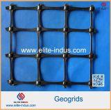 Concentrazione ad alta resistenza elastica alta Geogrid biassiale del modulo pp Bixial Geogrid