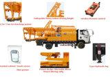 이동할 수 있는 구체적인 믹서 (JBC40-L)를 가진 플랜트 트럭에 의하여 거치되는 구체적인 1회분으로 처리 펌프