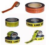地下のアルミホイルの磁気探索可能な警告テープ