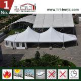 組合せはイベントの党および結婚式のための大きい最も高いピークのテントを構成する