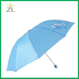 يطبع بوليستر مظلة عالة طبق مظلة