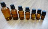 Bottiglie di vetro dell'olio essenziale del certificato di iso con la protezione del contagoccia