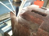 Ranurador de piedra pesado del CNC del grabado