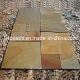 Range australiano Polished Beige Sandstone Tiles per Hotel Floor Covering