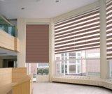 Basswood feito às cortinas de madeira personalizadas do escritório ou da HOME