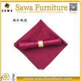 Hochzeits-Dekoration-Rosa-Polyester-Tisch-Serviette-Großverkauf
