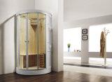 Singola stanza di sauna nella stanza del bagno (M-8259)