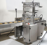 Au cours de liage automatique Machine d'emballage cellophane pour biscuit
