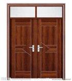 Porta de madeira contínua interior do competidor elegante do bom projeto