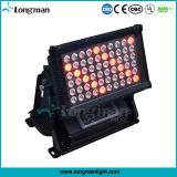 Hohe Leistung Rgbaw 300W IP65 Wand-Unterlegscheibe der Stadt-Farben-LED