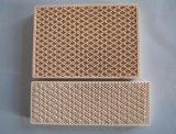 Do favo de mel cerâmico infravermelho da placa do Cordierite placa cerâmica usada para o forno da combustão