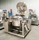 Pipoca automática industrial do caramelo do preço de fábrica que faz o anúncio publicitário da máquina