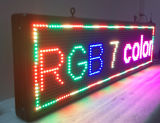 "LED électronique programmable P13 Full Color Outdoor Sign LED Display 15 ""X 53"" Remote Control Ouvrir Exécution Affichage Babillard"