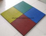 500 * 500mm Ginásio ou Jardim de infância Usado Tipo de bloqueio tipo quadrado de borracha