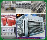 Venta caliente Jinlun máquina caliente de la prensa de 500 toneladas para la tarjeta de la madera contrachapada