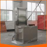 elevación eléctrica de la escalera del sillón de ruedas del 1.5m pequeña para los minusválidos