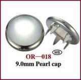 9mm Pearl Cap Prong Snap Button