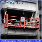 Berceau suspendu de plate-forme de plate-forme de travail/de plate-forme fonctionnement en acier