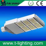 Outdoor AC85-265V 150W Iluminação de iluminação de alumínio IP65 LED Solar Street Lamp