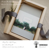Hongdao Gifts_D를 위한 나무로 되는 사진첩 상자