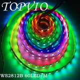 Buen precio 5050 Digital IC RGB LED tira flexible 60LEDs