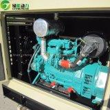 200kVA移動式無声タイプディーゼル発電機