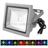 100W openlucht RGB LEIDENE Schijnwerper met Kleur die de Waterdichte Lichten van de Veiligheid veranderen