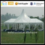 Outdoor High Peak Mobile Aluminium Party Evento Clear Span Pagoda Gazebo Luxo Nigéria Índia África Wedding Marquee
