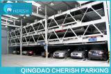 2-6 elevatore a più strati livellato che fa scorrere il sistema di parcheggio dell'automobile di puzzle