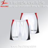 Shorts Running lisos personalizados do Sublimation da venda de Healong Sportswear superior
