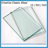 vidro Tempered 12mm desobstruído de 8mm 10mm, vidro Tempered ácido