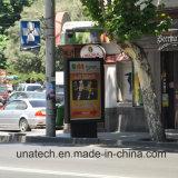 LEDのバックライトの旗ポスターPVC Baklitfilm画像の写真Alu。 フレームのScrollerの広告ボックス