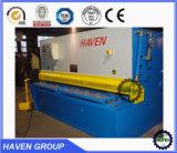 QC12Y hidráulica Swing Beam Shearing Machine cisterna tipo swing Tipo de corte