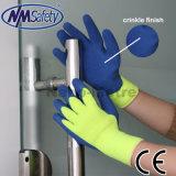 Couche de sécurité main Nmsafety chemise de gants en latex enduits