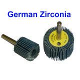 Zirconia-abschleifendes Abdeckstreifen-Rad mit Welle
