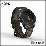 IP67 impermeable reloj deportivo con brújula, reloj inteligente con Sleep Monitor de ritmo cardíaco
