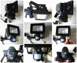 PIR HD Detecção de movimento com câmera de segurança de áudio e vídeo CCTV